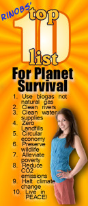 mags shows Rinobs' Top 10 for planet survival